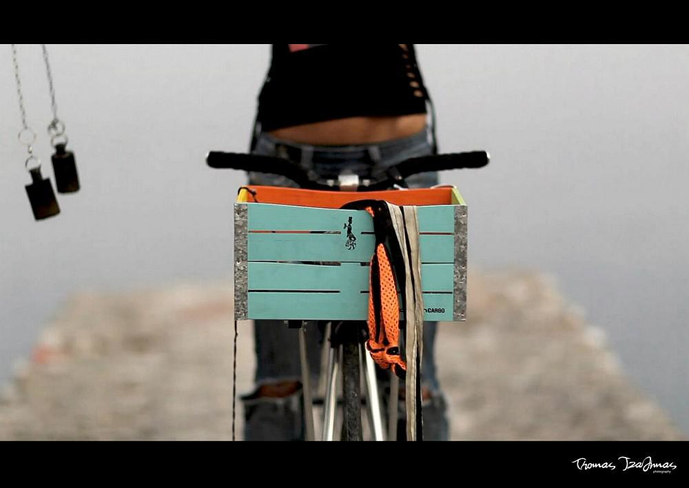The Gothamlab bicycle basket is simply extraordinary.