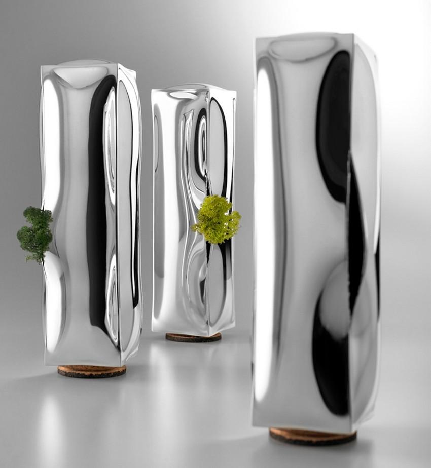 Frozen Vases by Studio 4p1b for De Vecchi Milano.