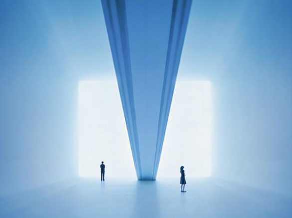 Ganzfeld - A light and space installation by James Turrell