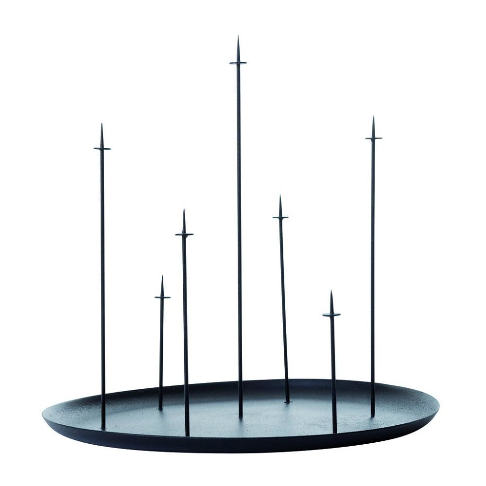 Multi Candle Pin Candelambra, a pedestal for candles by ENO STUDIO.