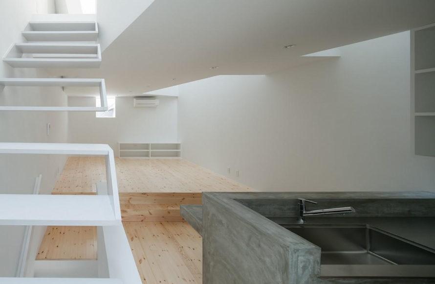 Μίνιμαλ αρχιτεκτονική κατοικίας από τον Kenji Ido.