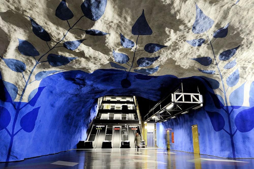 Stockholm Metro – A gigantic art exhibition.
