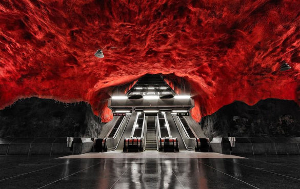 Stockholm Metro Stations