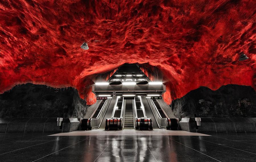 Stockholm Metro Stations (21)