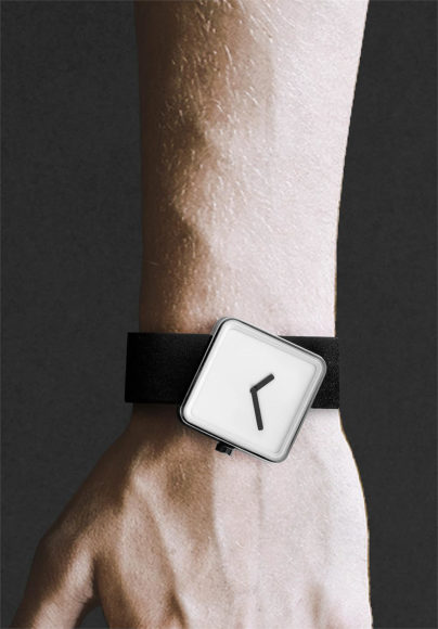 Slip, a Unique Minimal Watch by Nonlinear Studio.