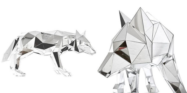 Animal Sculptures Made Of Mirror Arran Gregory