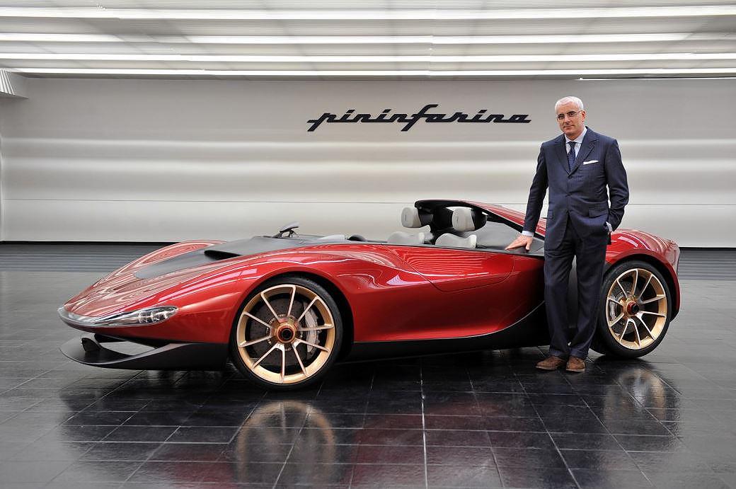Ferrari designer pininfarina