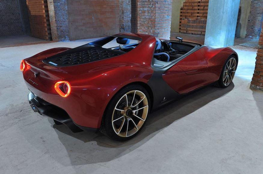 Ferrari Sergio Concept από τον Pininfarina.