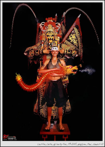 The work of Jean Paul Goude.