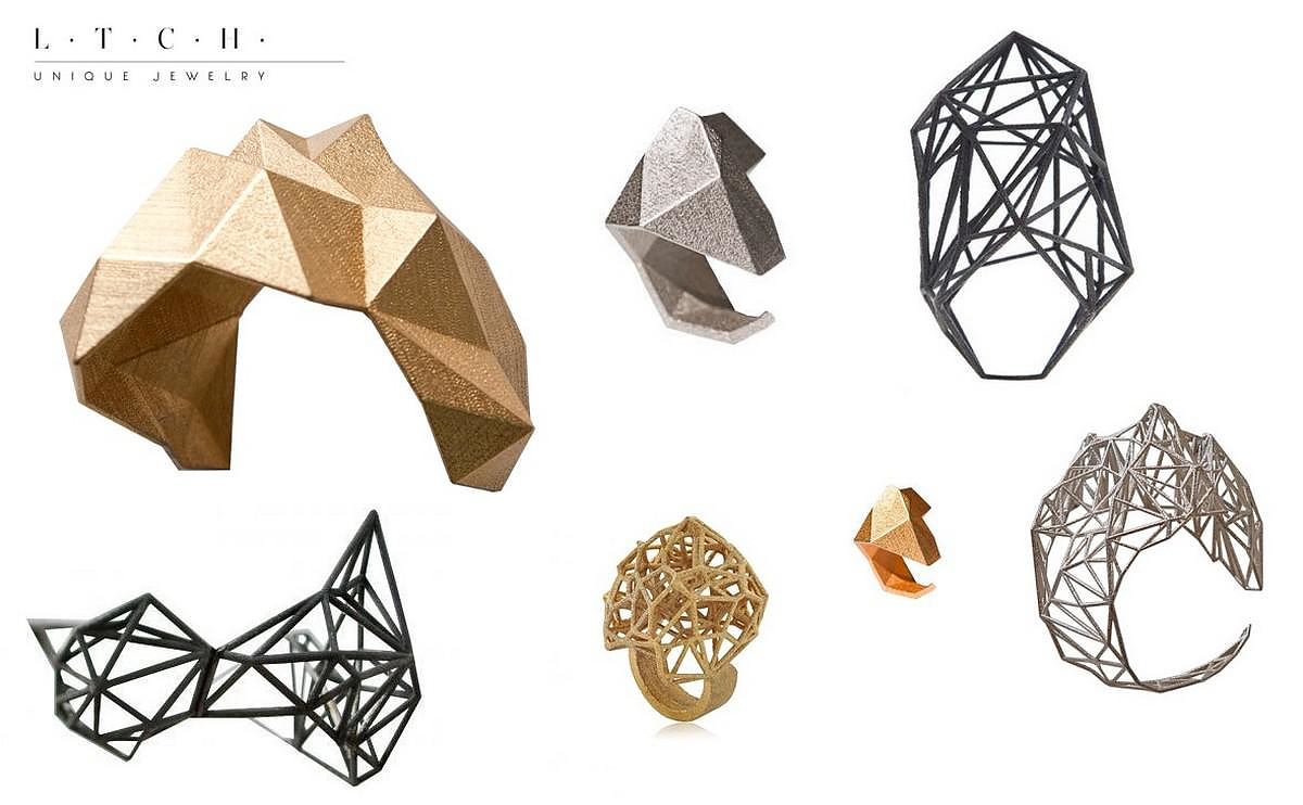 Architectural Jewelry by Lotocoho