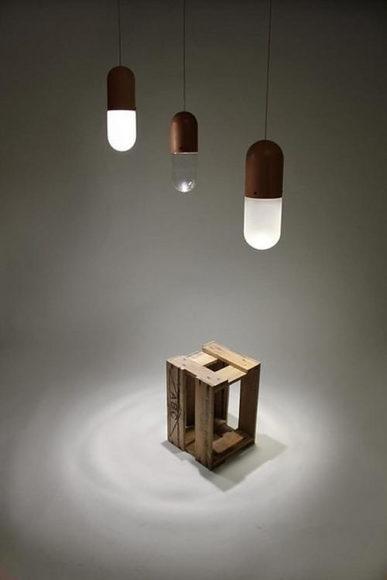 Φωτιστικό οροφής Pil από τον Tim Wigmore.