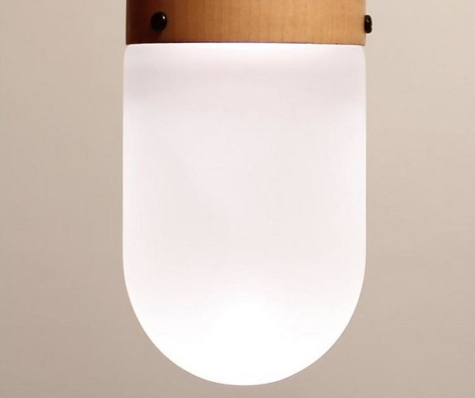Pil hanging lamp by Tim Wigmore.