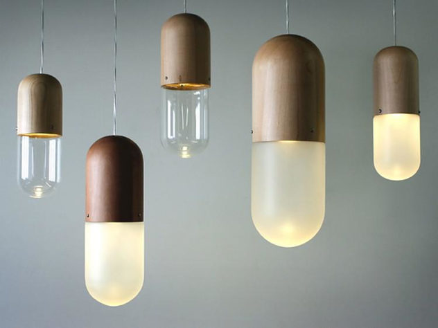 Pil Hanging Lamp by  Tim Wigmore (1)