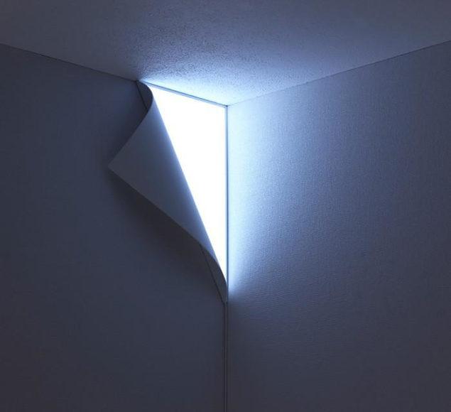 Peel wall light by YOY Design Studio.
