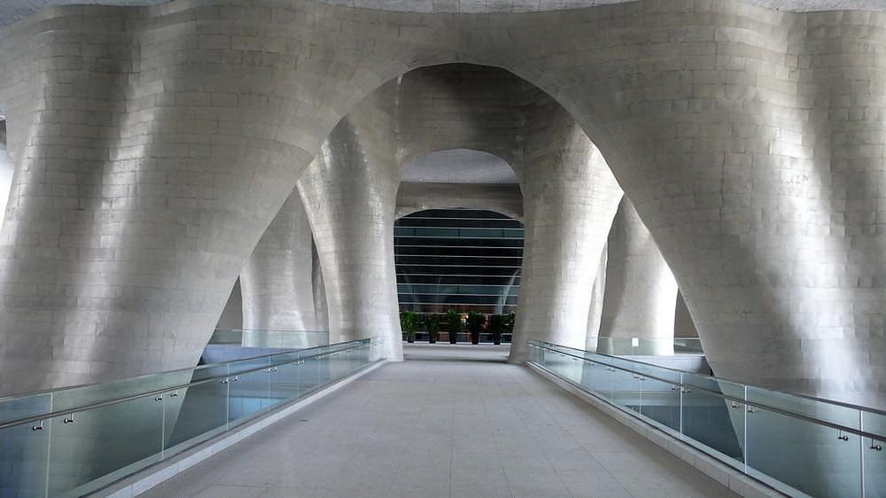 Shanghai Himalayas Center by Arata Isozaki.