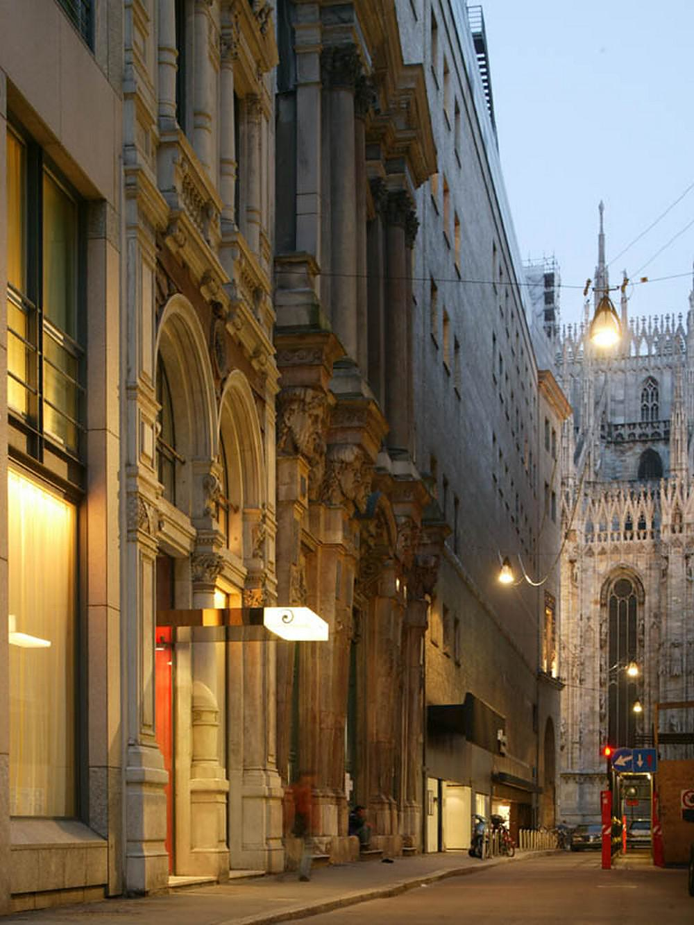 Boutique Hotel: The Gray Boutique Hotel In The Heart Of Milan.