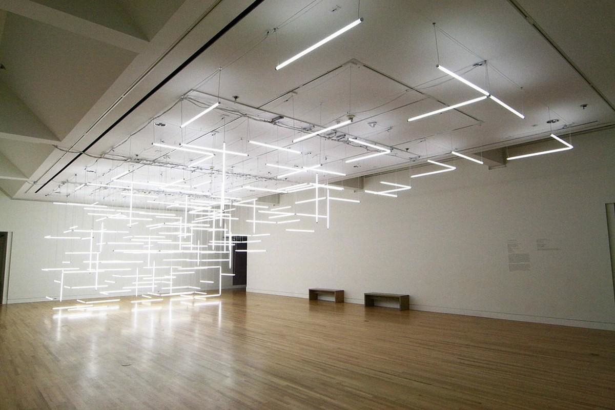 Through Hollow Lands A Light Installation By Lilienthal