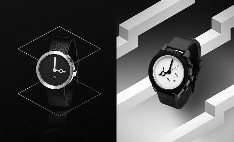 Minimalist Design Wristwatches by AÃRK Collective.