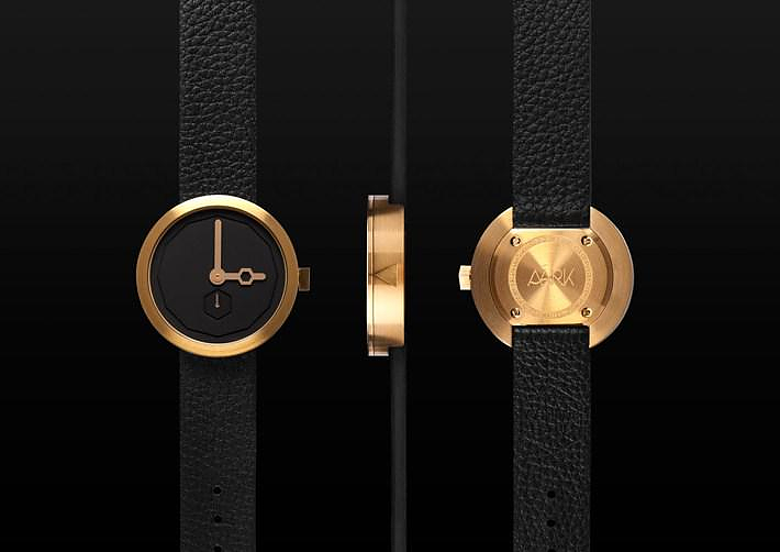 Minimalist Design Wristwatches by AÃRK Collective.