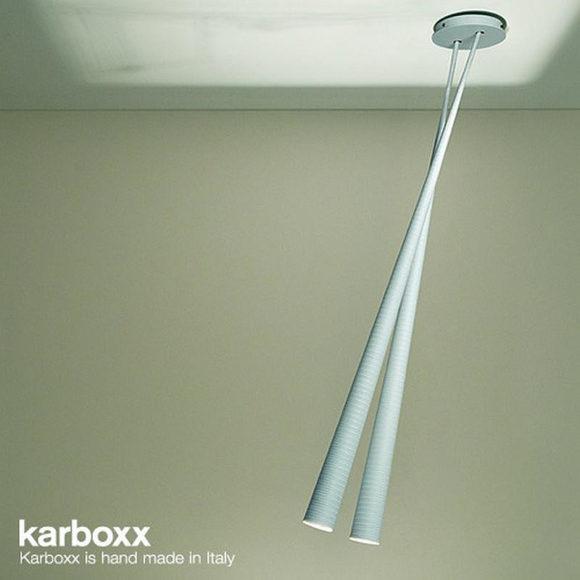Φωτιστικά Carbon Fiber από την Karboxx.