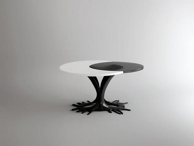 Egg Table by Wamhouse, perfect for breakfast.
