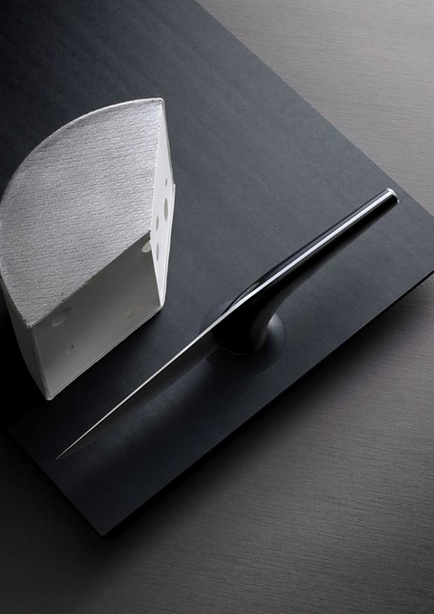 Artistic French Dinner Knives by Henri Mazelier.
