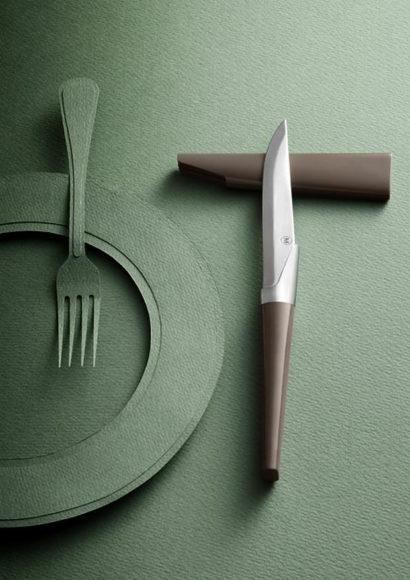 Henri Mazelier – Μαχαίρια φαγητού έργα τέχνης.
