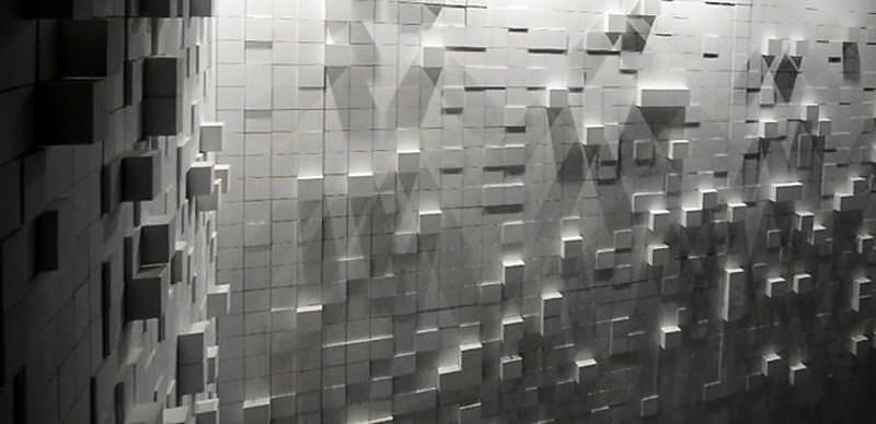 Hyper Matrix, an amazing kinetic landscapes media art installation.