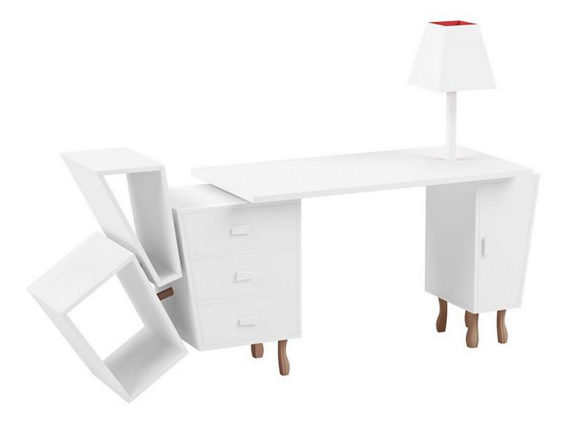 Kenn Desk by Kenyon Yeh for Seletti