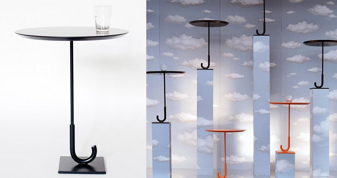 Parapluie Table by Rakso Naibaf