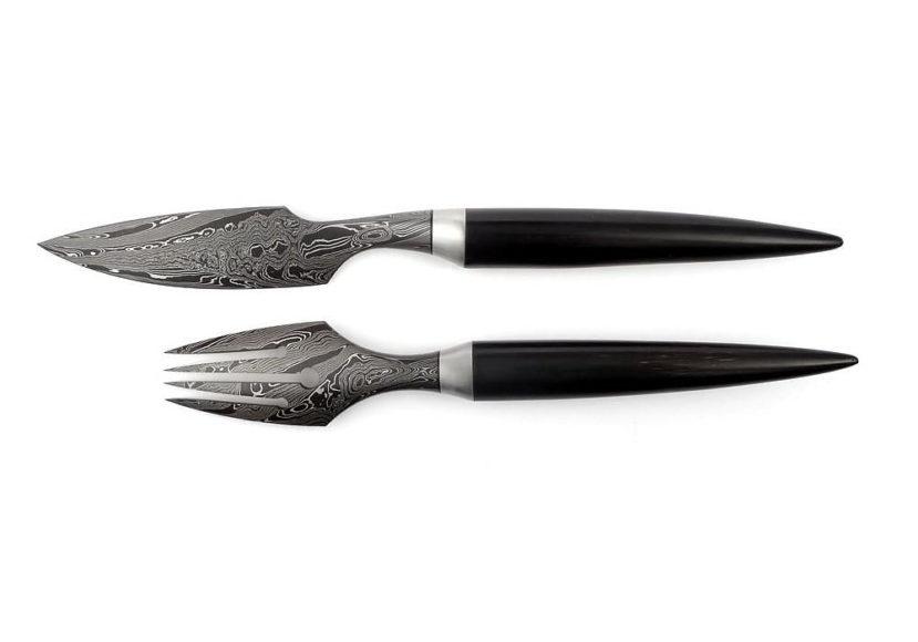 Συλλεκτικά μαχαίρια έργα τέχνης της Scorpio Design.