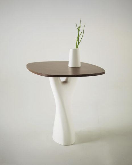 Treeangle a table/vase fusion by Anna Strupinskaya.