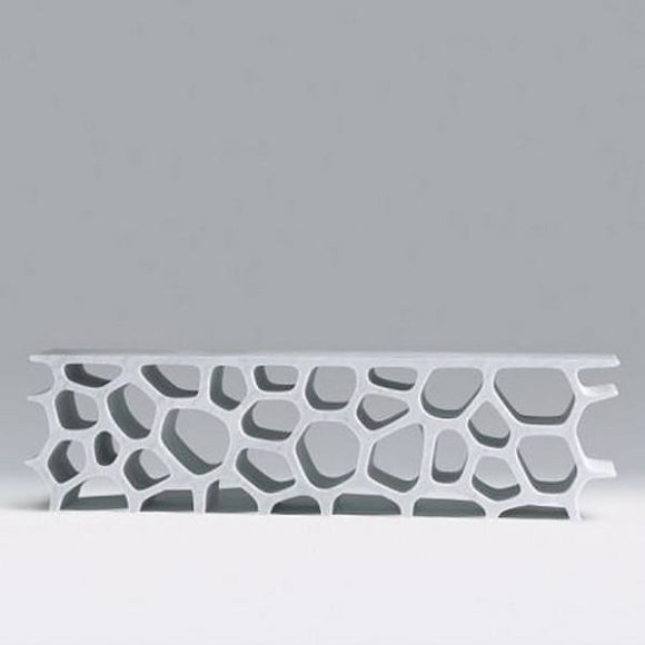 Μαρμάρινη βιβλιοθήκη Voronoi από τον Marc Newson.