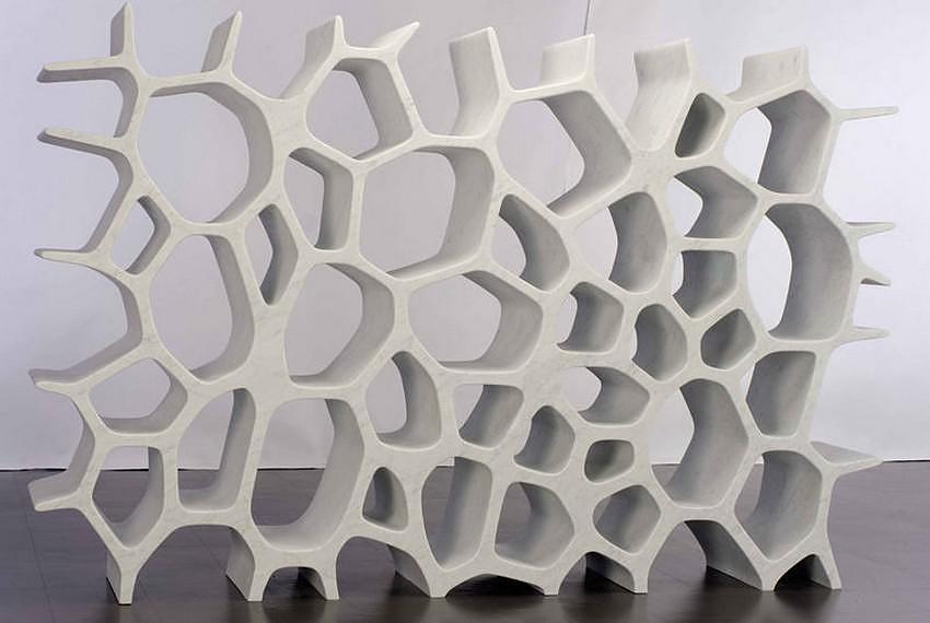 Voronoi Shelf by Marc Newson.
