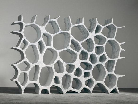 Voronoi Shelf by Marc Newson