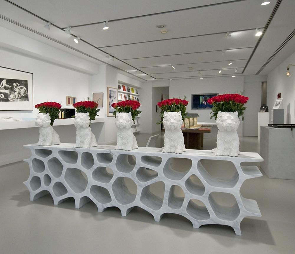 Voronoi Shelf By Marc Newson Design Is This