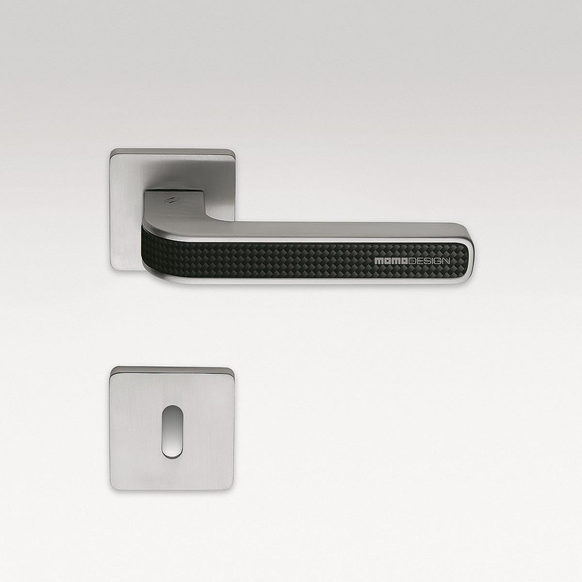 TECNO Carbon Fiber Door Handle by MOMO DESIGN.