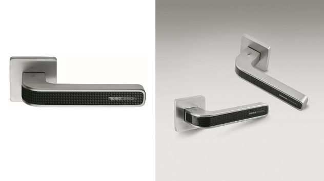 Colombo Design TECNO Carbon Fiber Door Handle by MOMO DESIGN