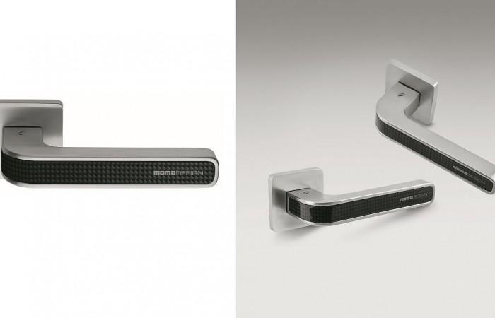 Colombo Design TECNO Carbon Fiber Door Handle by MOMO DESIGN