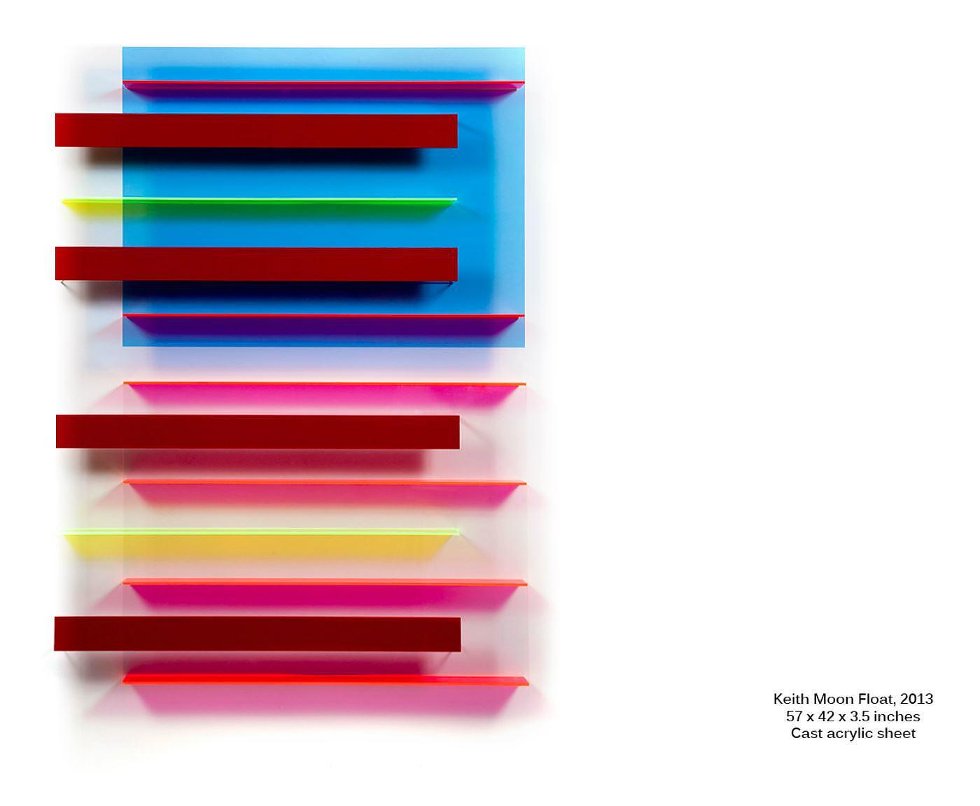 Geometric Colors: New Floats by Christian Haub.