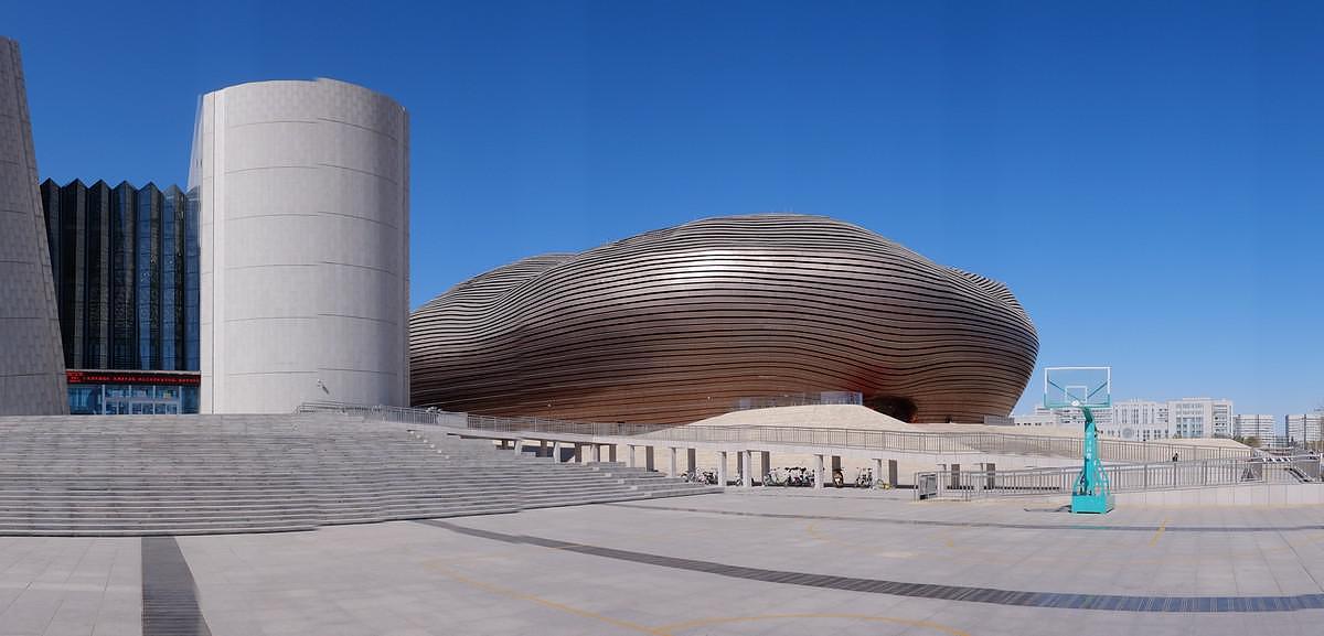 Μουσείο Ordos: ένα βότσαλο στην έρημο.