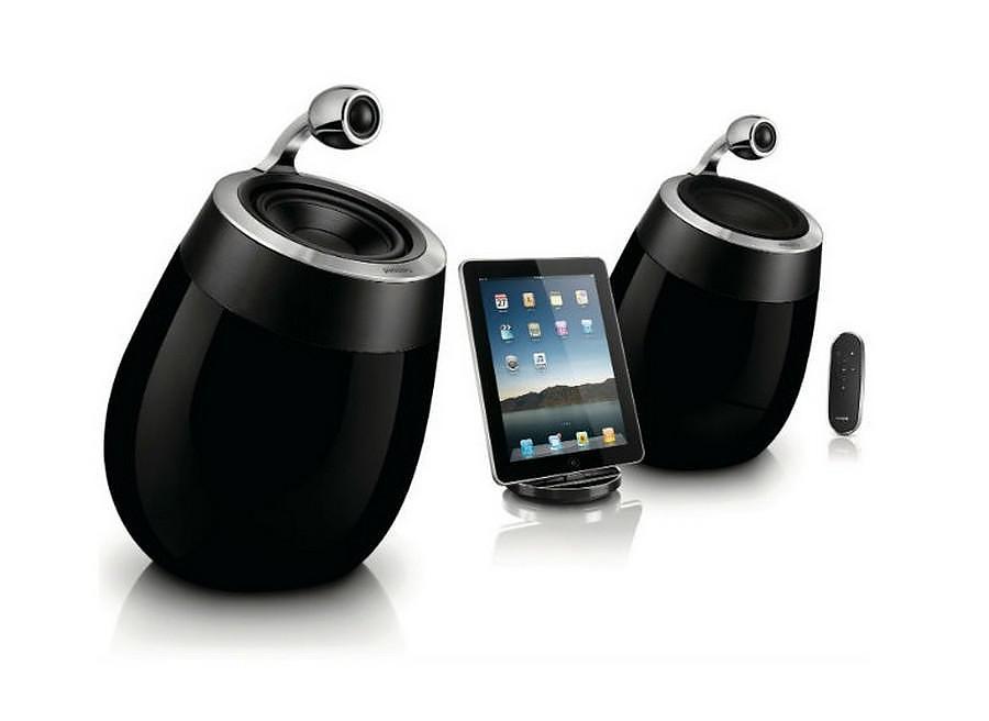 Philips Fidelio SoundSphere Wi-Fi / Airplay Wireless Speakers.