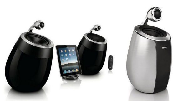 Philips Fidelio SoundSphere Wi-Fi / Airplay Wireless Speakers