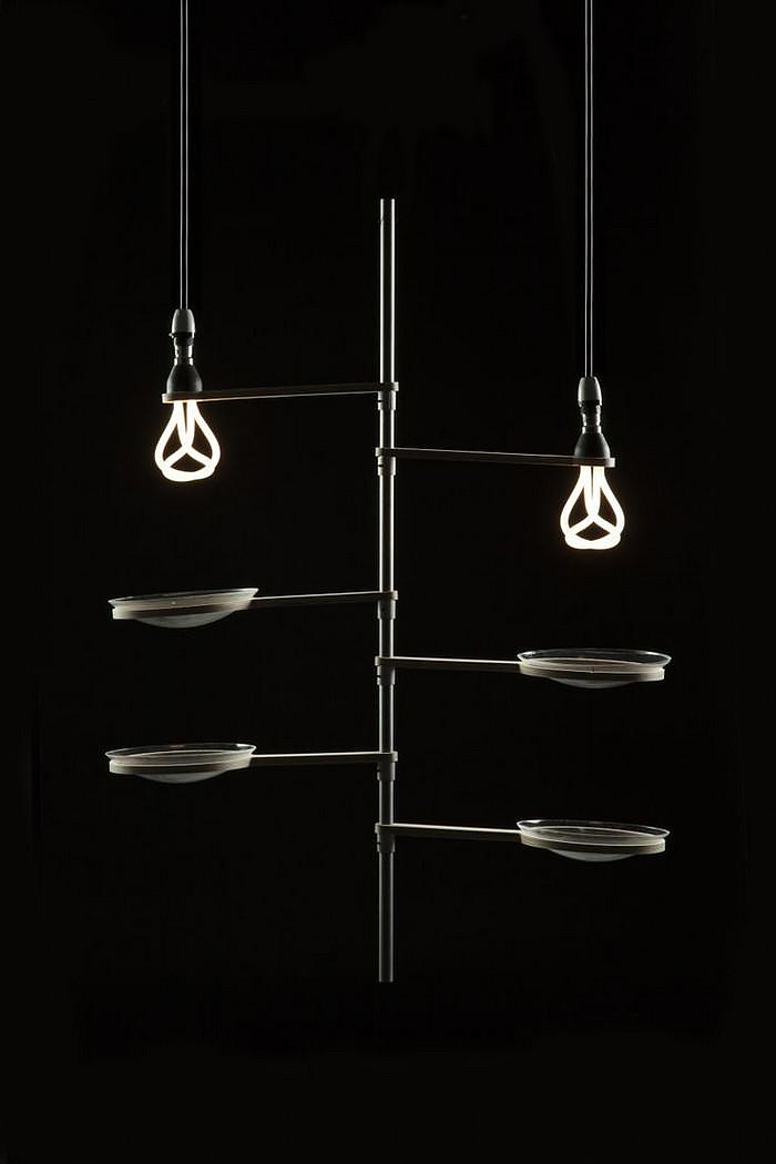 Designer Lamp Shades for the Plumen Bulb by University Students.
