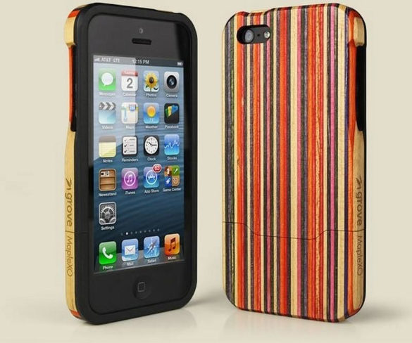 Skate Case wooden iPhone Case