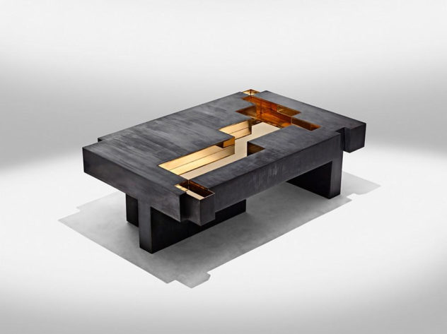 Studio Nucleo Metals Collection Bronze Age Coffee Table