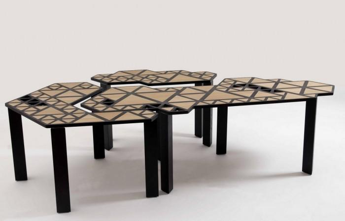 Swarm Transforming Table by Natalie Goldfinger
