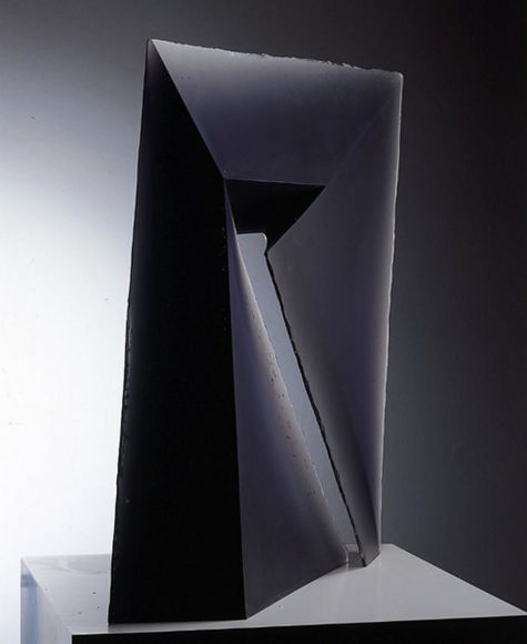 Geometric Glass Sculptures by Stanislav Libensky.