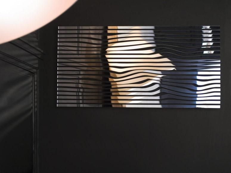 Συλλογή από καθρέφτες KARIMIRROR του Karim Rashid.