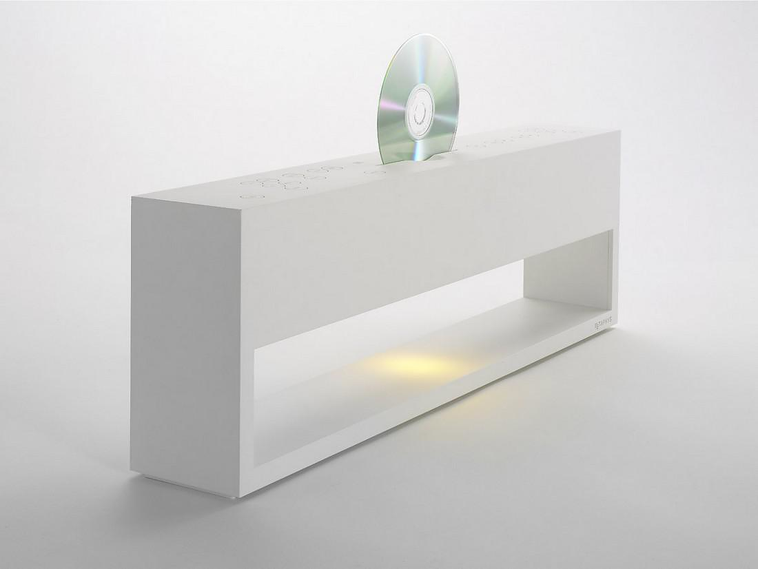 Metaphys Electric Lunacalante CD Player, Minimalist Sound.
